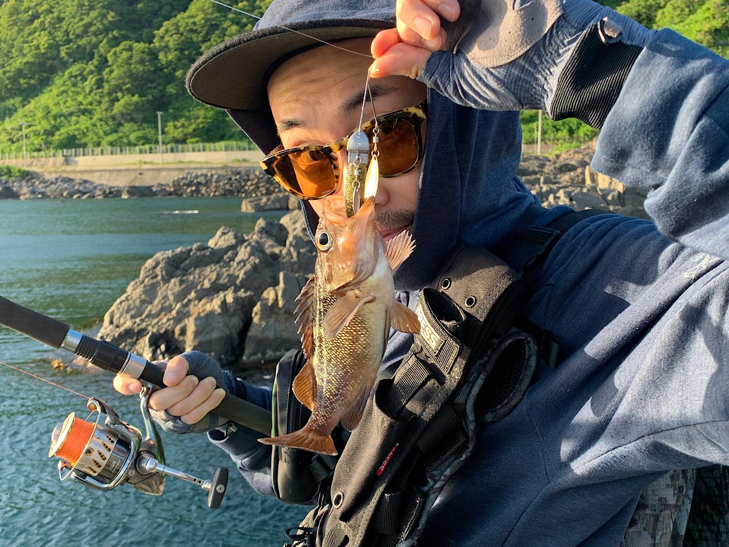ワームでの釣り
