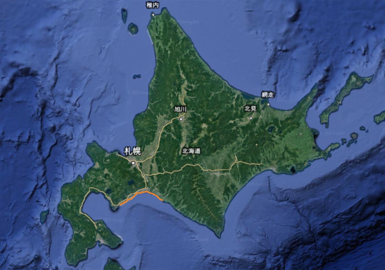 道央サクラマスポイント 太平洋