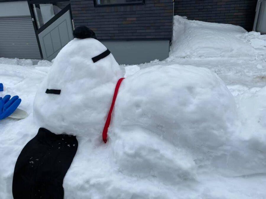 とうべつ雪像コンテスト2021