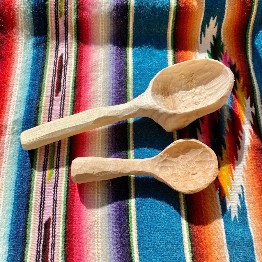 手作り木製スプーンを作ってみた