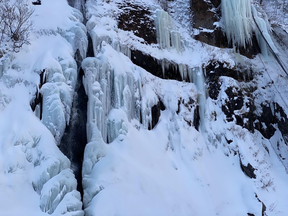 白銀の滝 オロロンライン
