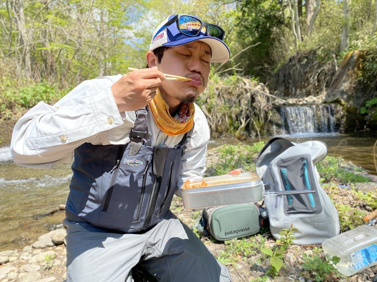 パタゴニア 渓流釣り